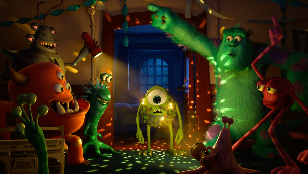 Monsters university,mike wazowski,Академия монстров,sulley,монстры