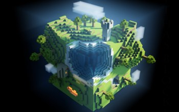 World,Minecraft,cubes,game