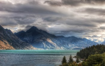 sky,Queenstown,mountains,new