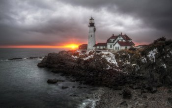 cape elizabeth,maine,маяк,United states