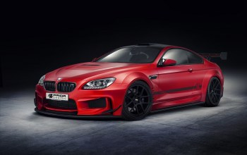 prior design,bmw m6,тюнинг,Red