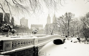 manhattan,bow bridge,Nyc,new york city