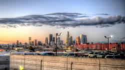 downtown,city,los angeles,Hdr