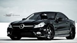 sl63,тюнинг,360,чёрный,mercedes-benz,three sixty forged