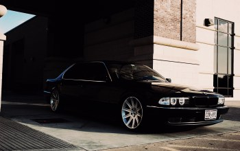 car,обои,bmw 750,wallpapers