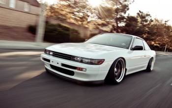 jdm,Speed,style,car,stance,автомобиль,s13,nation,White
