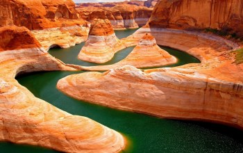 canyon,desert,rock,delta,river