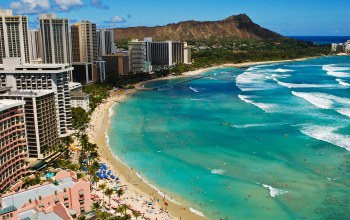 beach,Hawaii,Waikiki,волны
