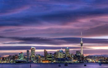 new zealand,skyscrapers,auckland,sky,sky tower,harbour,city center,окленд