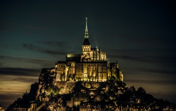 island,нормандия,Normandy,Mont saint-michel,france