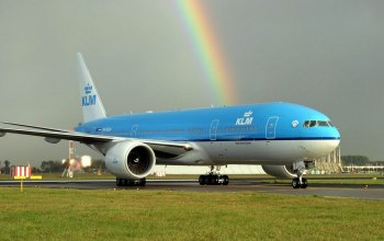 boeing 767,sky,wings,fly,klm