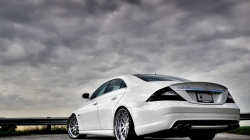 amg,cls63,Mersedes-benz,белый,Дорога,тюнинг