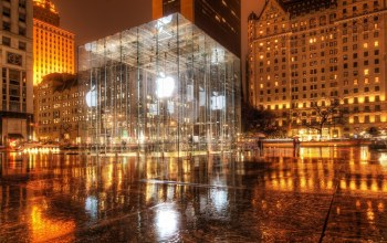 Apple store,new york