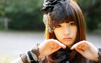 kuwaii,cute,pretty girl,beautiful,japanese,japanese girl,asiatic,pretty,girl,pretty face,asian,brown,long hair