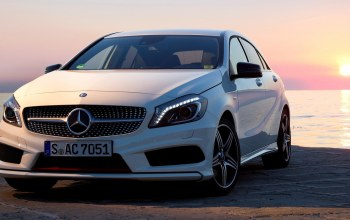 package,2012,автомобиль,car,mercedes,a200,wallpapers,sport,new,White