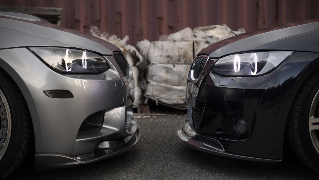 Bmw,335xi,M3,face to face,silvery