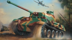 geman panzer,Hawker tempest,war,army,ww2,panther tank,drawing,sherman tank,painting
