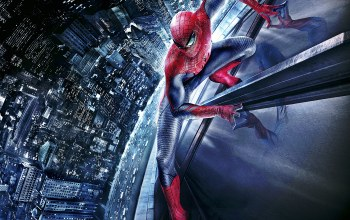 car,The amazing,Spider man,building,wallpaper