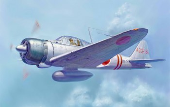 ww2,painting,japanese fighter,war,Mitsubishi A6M zero,aviation