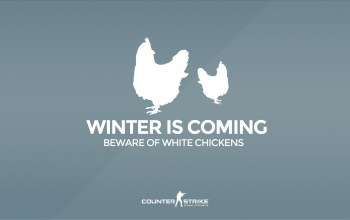 "Counter Strike ...,Beware of white chickens,Серия ""CS GO Situation"",cs go,Winter is coming"