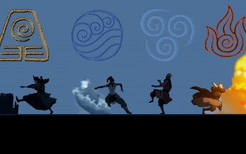 Вода,корра,kyoshi,...,воздух,Року,the legend of korra,земля,Киоши