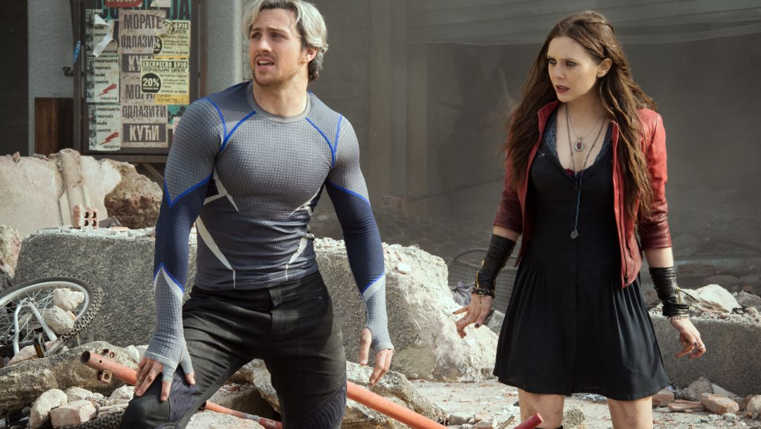 witch,Aaron taylor-johnson,Pietro,boy,avengers,street,age,scarlet,girl,...,action,sci-fi,film,ultron