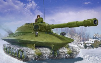 Soviet Heavy Tank OBJECT 279,tank,painting,war