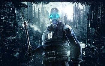 soldier,background,Half life,Half-life,Abstract,valve,combine soldier,video games,mask