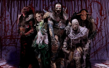 costumes of demons,heavy metal,Lordi