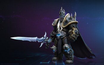 heroes of the storm,lich king,world of warcraft
