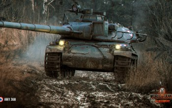 World of tanks,AMX 30B,француз