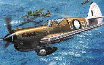 Airplane,ww2,war,painting,curtiss p-40,aviation