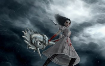 alice madness returns,alice-vip,pony,Hysteria