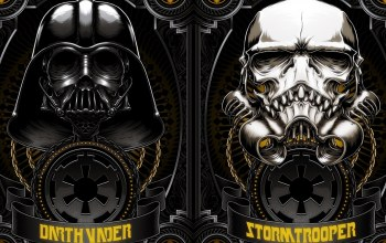 Storm Trooper,Darth vader