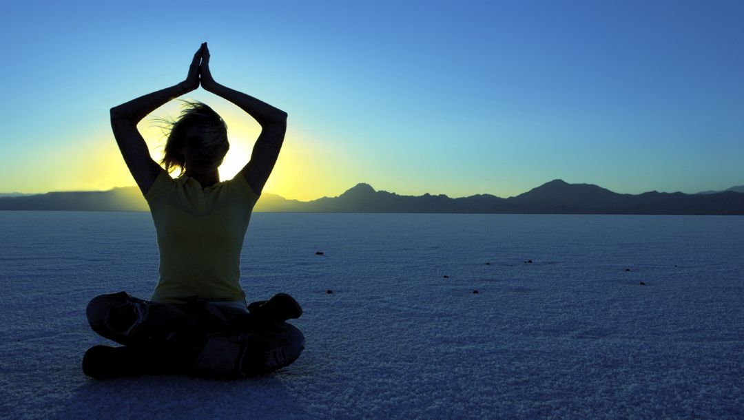 desert,girl,mountains,meditating