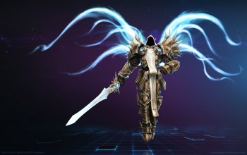 diablo 3,heroes of the storm,крылья