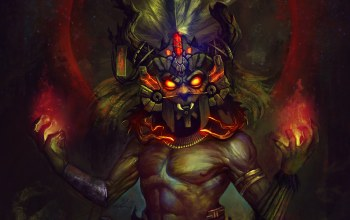 Voodoo,reaper of souls,diablo 3,background,Witch ...,diablo iii,mask