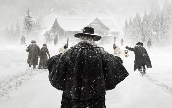 quentin tarantino,Samuel L. Jackson,SHERIFF,movie,pistols,2015,BOUNTY ...,The Weinstein Company,woman,winter