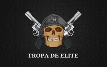 teeth,wings,death,Elite Equad,Skull,gun,riot police,Brazilian film,Special Police ...,weapon,beret