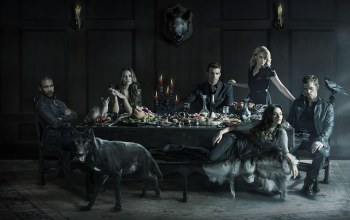 pig,boar,the original vampire,Marcel ...,cat,supper,the original hybrid,tv series,wolf hybrid