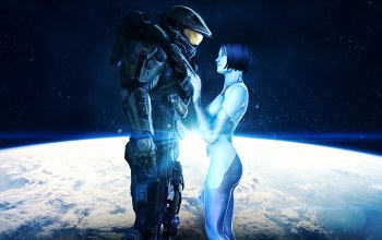 Cortana,master chief