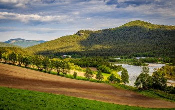 hills,scenary,norway,river