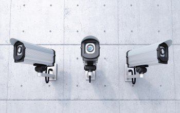 security cameras,Control,security,wall