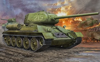 war,T-34-85.tank,ww2,painting