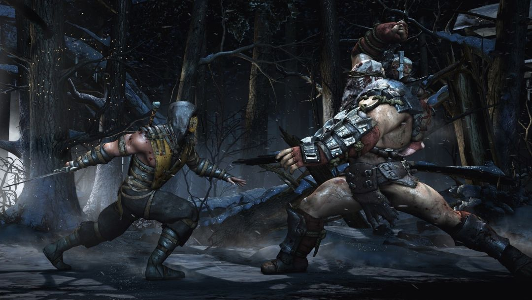 fight,blood,Mk 10,Enemy,snow,tree,MK X,sword,...,Armour,battle,battlefield
