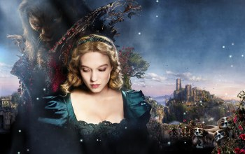 Beauty ...,beast,rose,and,prince,romance,beauty,sky,blonde,vincent cassel,girl,movie,Animal