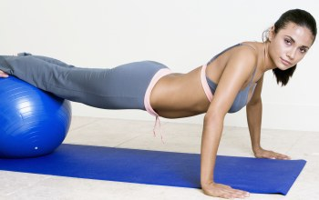 workout,exercises with fitball,woman,look,pose