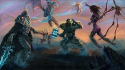 diablo,Tyrael,archangel,orc,arthas menethil,illidan stormrage,lich king,Thrall,heroes of the storm,...