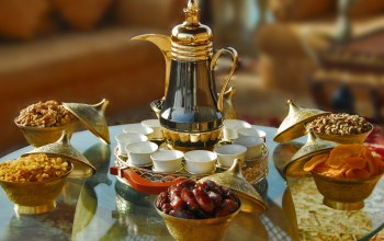 Iftar,table,cups,glass