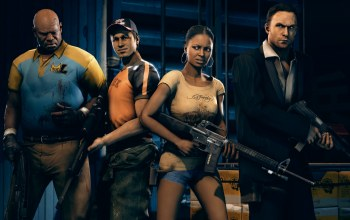 ellis,nick,Left 4 dead 2,rochelle,valve,coach,fps